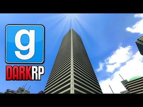 Basing On TALLEST Skyscraper In Gmod! (Garry's Mod DarkRP)