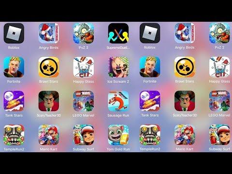ScaryTeacher3D,IceScream2,LegoMarvel,Roblox,Fortnite,Mario,Subway Surf,TomRun,PvZ,BrawlStar,Stickman