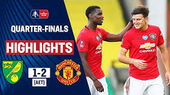 Maguire Scores Late Extra-Time Winner! | Norwich City 1-2 Manchester United | Emirates FA Cup 19/20