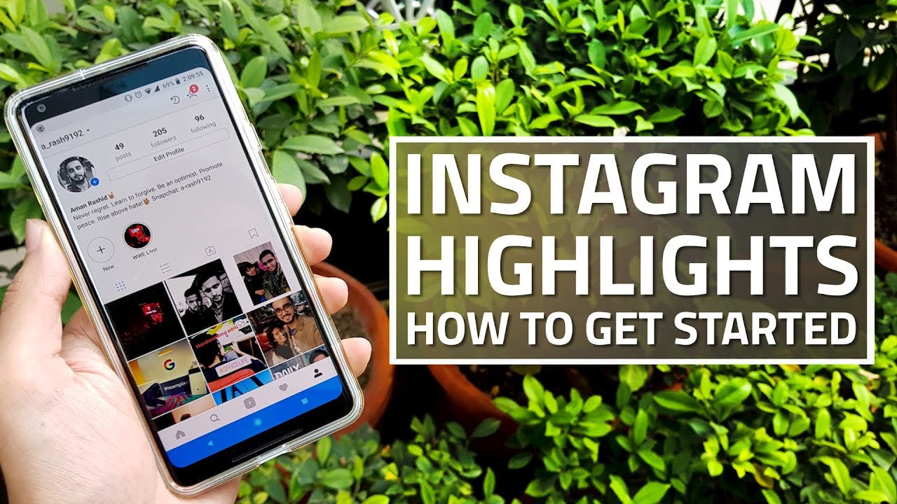 Instagram highlights how to get started youtube instagram highlights how to get started ccuart Gallery