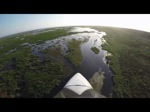 Excalibur Aircraft - Flying southern Louisiana marsh
