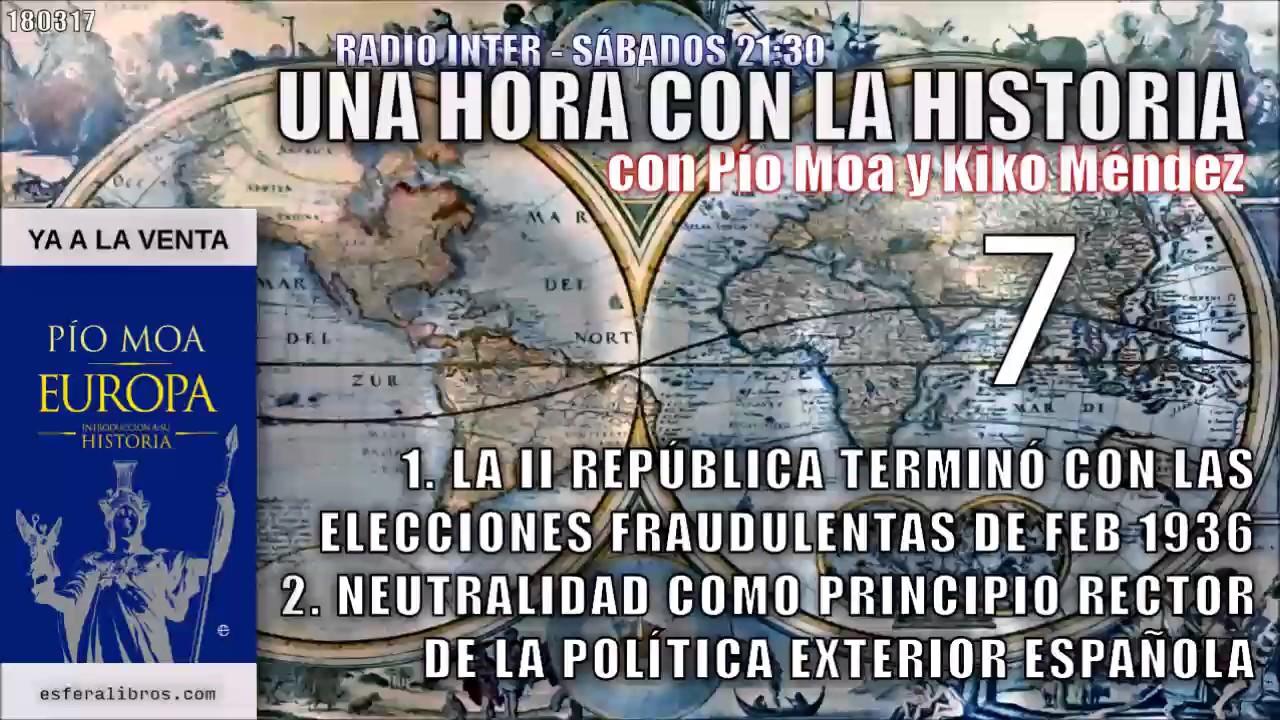 007 fin ii rep blica la neutralidad como principio for Politica exterior de espana