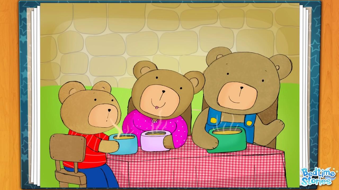 Cachinhos Dourados E Os Tres Ursos Youtube