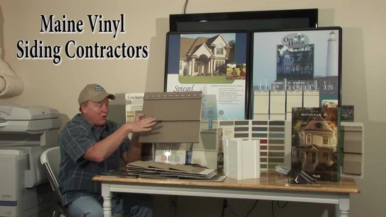Maine Vinyl Siding Contractors Youtube