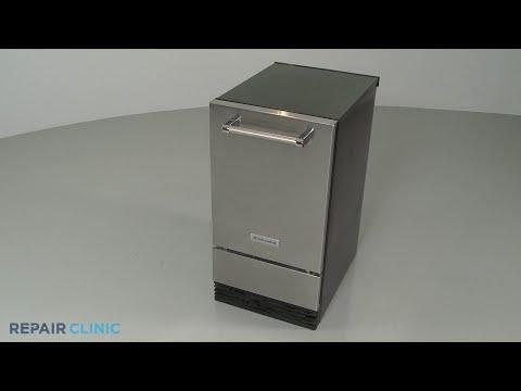KitchenAid Ice Machine Disassembly - Model KUID508ESS2