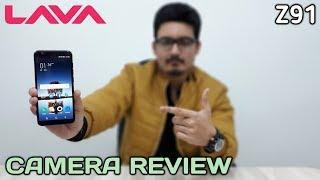 Lava Z91 Camera Review