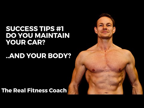 "Fitness Success Tips #01: Think about your attitude towards body ""maintenance""."
