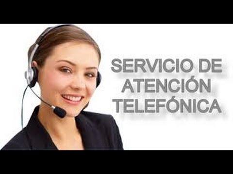 Atenci n telef nica servicio al cliente cursos facilitos for Atencion al cliente