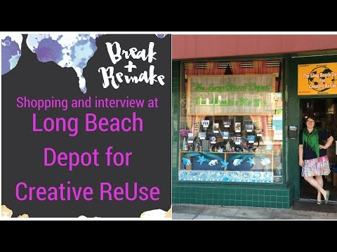 Long Beach Creative Reuse is an Upcycle Shop for Everyone