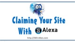 How to Claim Your Website or Blog with Alexa