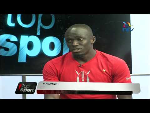 Kenyan sprinters talk about the sport in Kenya #TopSport