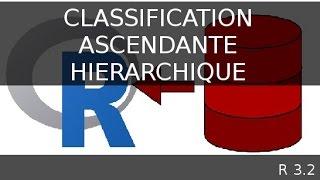Classification ascendante hiérarchique avec librairie cluster - logiciel R
