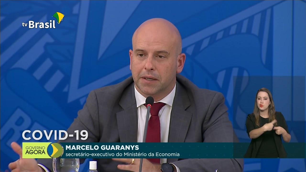 Coletiva de Imprensa com técnicos do Ministério da Economia sobre Covid-19 no Palácio do Pla