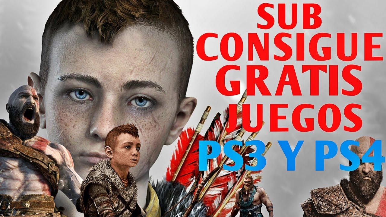 Suscriptor Consigue Cuenta Con Juegos Gratis De Ps3 Y Ps4 Youtube