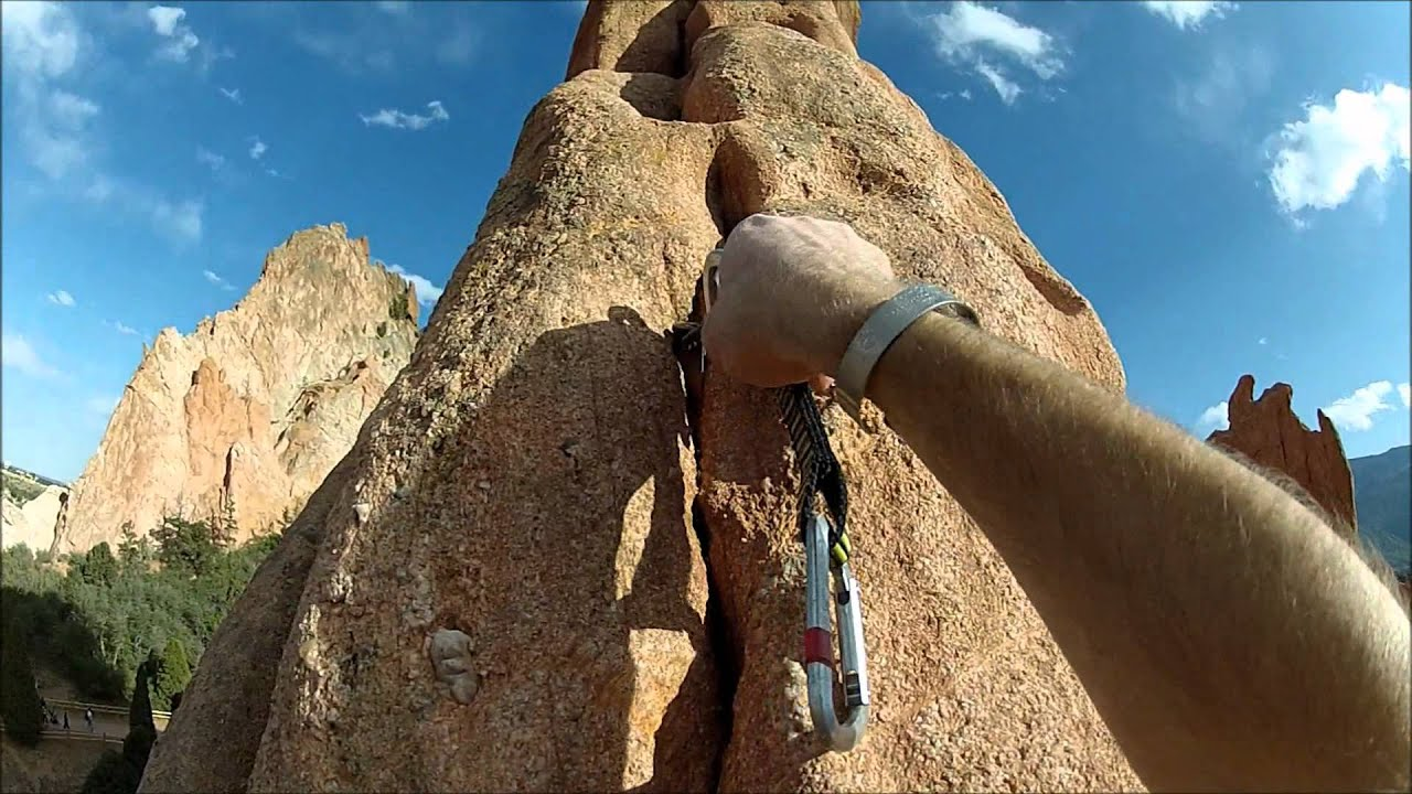 11 Year Old Climbs Montezuma 39 S Tower Garden Of The Gods Colorado Springs Co Part 1 Youtube