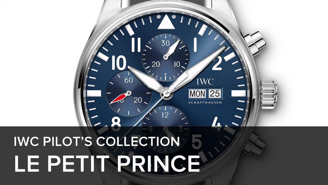 """IWC Pilot's Watch Double Chronograph Edition 'Le Petit Prince' Watch""的图片搜索结果"
