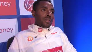 Kenenisa Bekele says he's healthy & ready for 2018 London Marathon