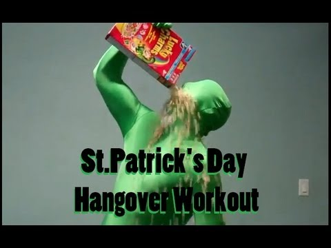 St. Patrick's Day Hangover Workout - YouTube