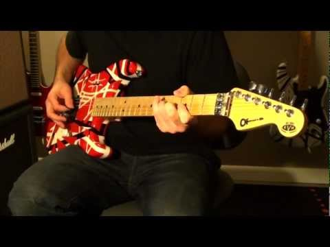 'Runnin' With The Devil' - Van Halen (cover w/ backing track)