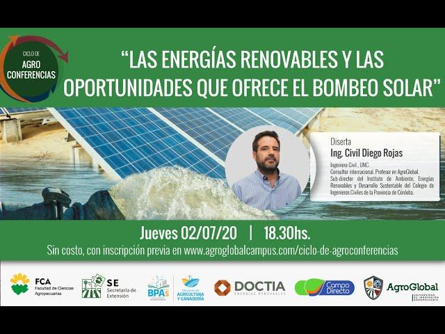 9° Agroconferencia sobre Energías renovables - AgroGlobal