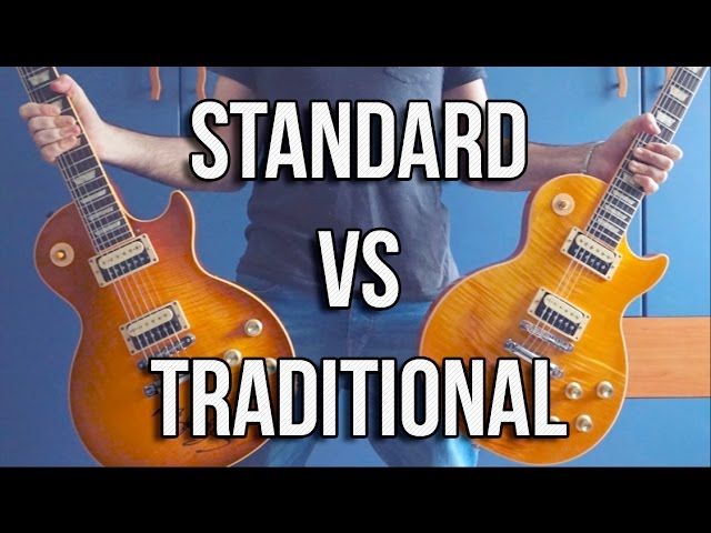 Gibson Les Paul: Standard VS Traditional
