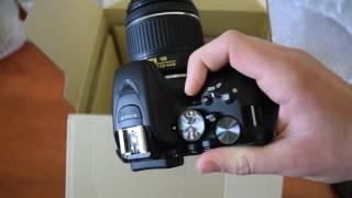 Unboxing Nikon D5500 with Nikkor AF-P 18-55 KIT