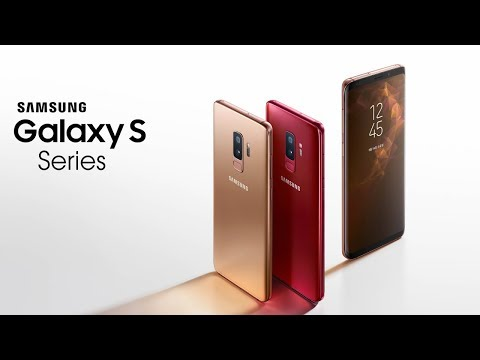 Samsung S Series Smartphones 2018