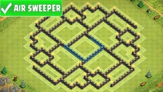 Clash Of Clans | AMAZING TOWN HALL 9 FARMING BASE (ENNEAD 2) AIR SWEEPER TH9 UPDATE