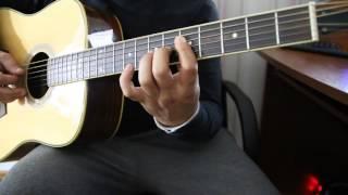 Уроки на гитаре - Полковнику никто не пишет - Соло