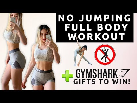 NO JUMPING HIIT WORKOUT | FULL BODY WORKOUT TO BURN FAT | APARTMENT FRIENDLY