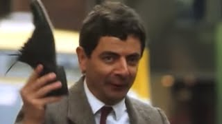Lost Shoe | Funny Clip | Mr Bean Official