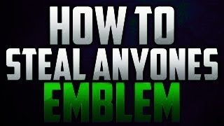 Black Ops 2 - How To Steal Anyones Emblem Glitch! (Call Of Duty Black Ops 2 Gameplay)