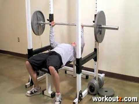 Workoutz Com Bench Press With Powerlifting Resistance Bands Youtube