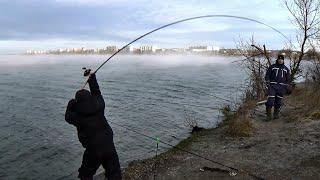 Первая рыбалка на ФИДЕР в 2020 году