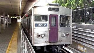 さよなら 大阪市交通局 谷町線 30系 3092F ステンレス車 映像集