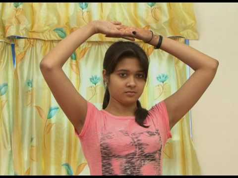 triyak tadasana  तिर्यक ताड़ासन health zone yoga  youtube