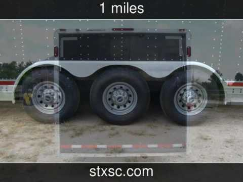 2003 FEATHERLITE TRAILER 4941 ENCLOSED 40 CAR TRAILER Used Rvs - CONROE,TX on