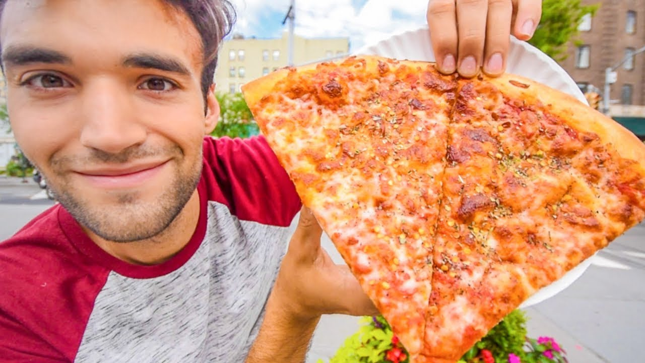 Living On Dollar Pizza For 24 Hours In Nyc
