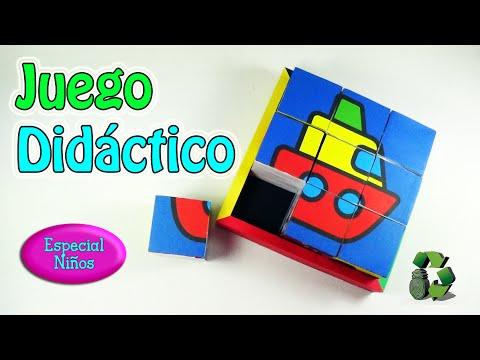 Juego Didactico Para Ninos Puzzle Rompecabezas Reciclaje
