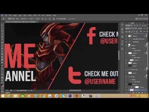 League Of Legends Free Banner Template