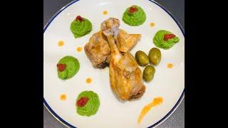 Настоящая итальянская курица а ля Качатора (по охотничьи)