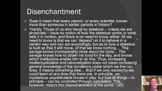 Week 4 Max Weber Science as a Vocation