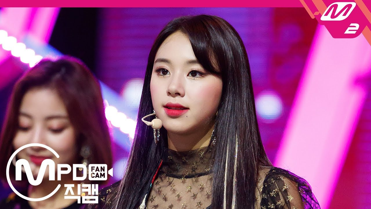 [MPD직캠] 트와이스 채영 직캠 'YES or YES' (TWICE CHAE YOUNG FanCam) Ver.2 | @MCOUNTDOWN_2018.11.8