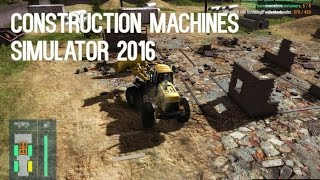 Construction Machines Simulator 2016 [Gameplay, PC]