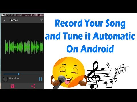 Best Autotune Android App For Recording Songs and Rap🎶🎙️🎼 (In Hindi)