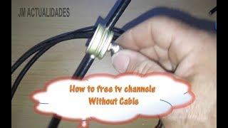 How to free tv channels➡️ Without Cable 📌💯% work 👍2019