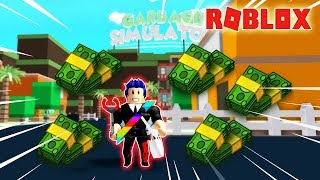 Roblox-I Glide On Past Earning Garbage picked up Be the Bureau Money Rub Evangelist Fire-$ Garbage Simulator