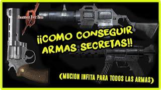Resident Evil Zero: Conseguir Armas y Munición Infinita