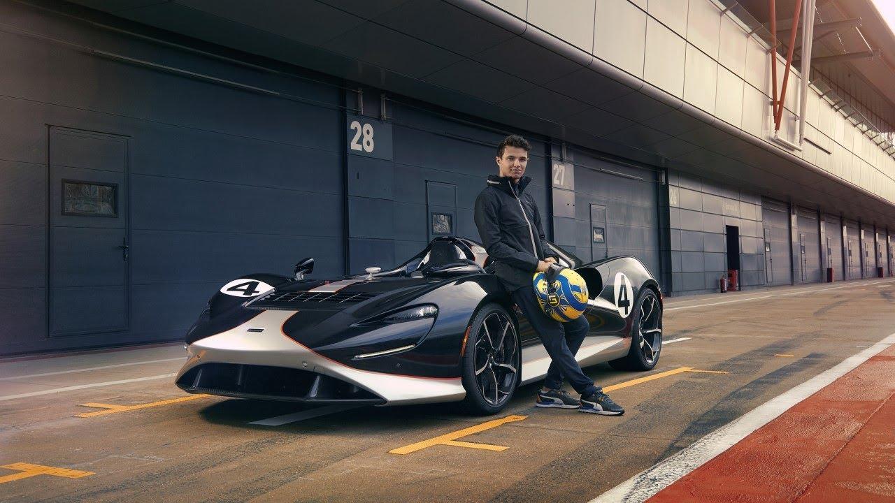 Download Put to the test - Lando Norris drives the McLaren Elva