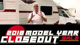 Come check out the 2018 Model Year Closeout Sale